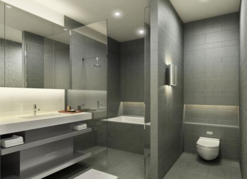 صور - ديكورات حمامات انيقة وعصرية