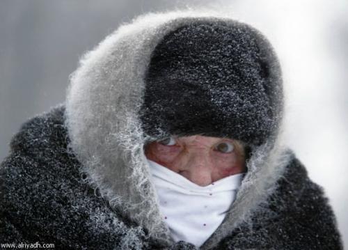صور - ابرد منطقة بالعالم درجة حرارتها 93 درجة تحت الصفر