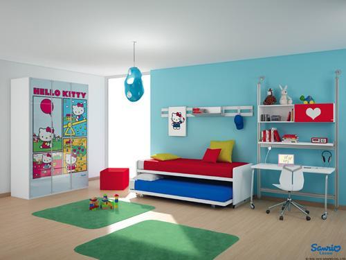 صور - افكار تصميمات غرف اطفال مودرن بالصور