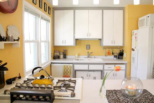 yellow kitchen decor gray kitchen ideas gray and yellow
