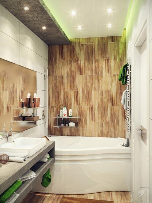 افكار وتصميمات ديكورات حمامات صغيرة المساحة بالصور ماجيك بوكس