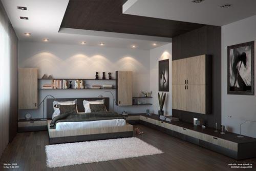 صور ديكورات جبس اسقف غرف النوم