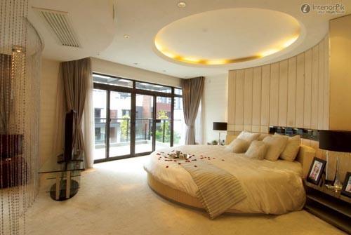 صورة ديكورات جبس اسقف غرف النوم