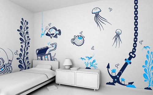 صور - أحدث أفكار وتصميمات ديكورات حوائط بالصور