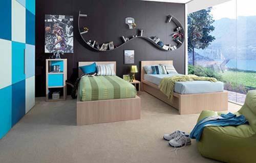 تصميمات وديكورات احدث غرف نوم اطفال مودرن بالصور   ماجيك بوكس