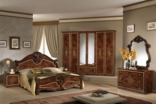 : غرف نوم كلاسيكية ايطالية : غرف