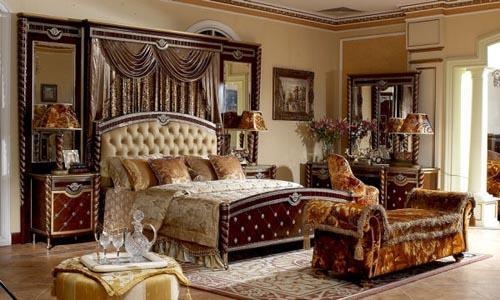 صور - تصاميم غرف نوم فخمة كلاسيك لعشاق الفخامة بالصور