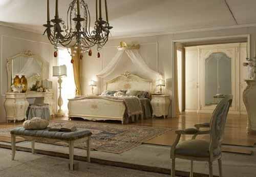 تصاميم غرف نوم فخمة كلاسيك لعشاق الفخامة بالصور - ماجيك بوكس