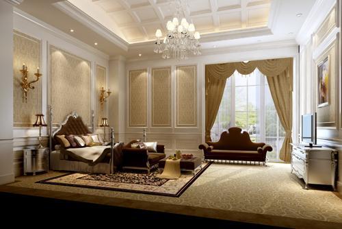 : غرف نوم كلاسيكية فخمة : غرف