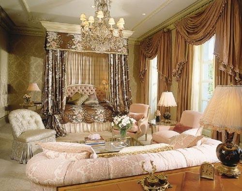 تصاميم غرف نوم فخمة كلاسيك لعشاق الفخامة بالصور   ماجيك بوكس