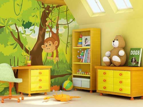 : الوان دهان غرف نوم اولاد : غرف