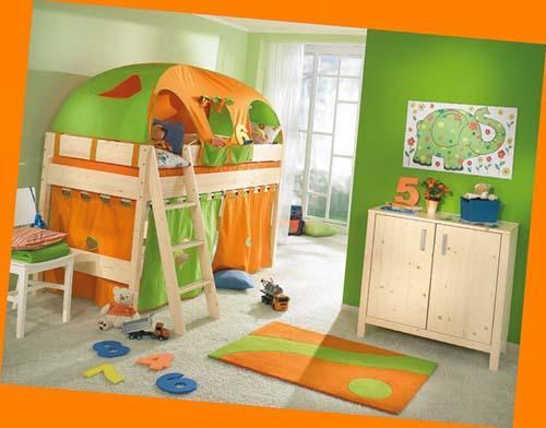 صور - أفكار ألوان دهانات غرف أطفال جديدة وعصرية بالصور