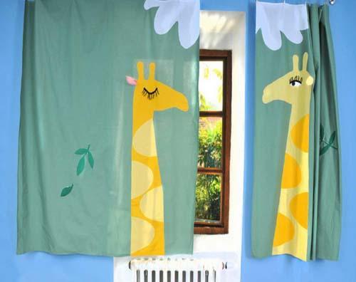 صور - افكار احدث تصميمات ستائر غرف اطفال مودرن بالصور