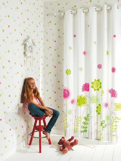 افكار احدث تصميمات ستائر غرف اطفال مودرن بالصور