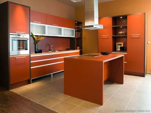 صور - كيفية اختيار الوان مطابخ مودرن تناسب ديكورات منزلك