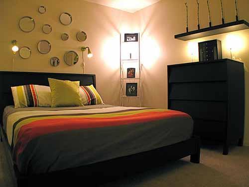 افكار ديكورات حوائط غرف نوم بالصور