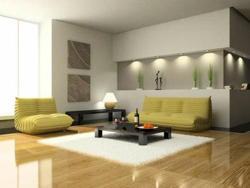 افكار ديكورات غرف جلوس مودرن صغيرة المساحة بالصور   ماجيك بوكس