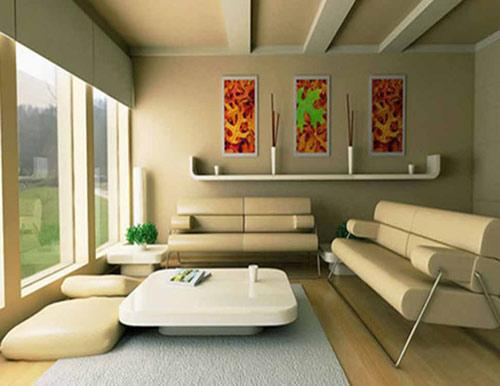افكار ديكورات غرف جلوس مودرن صغيرة المساحه بالصور