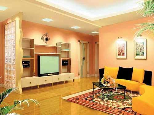 for 1 bhk living room interior