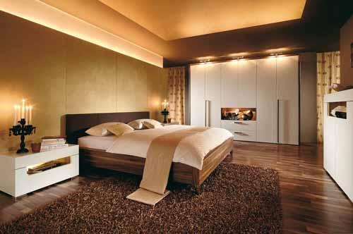 احدث ديكورات اضاءة غرف النوم بالصور   ماجيك بوكس