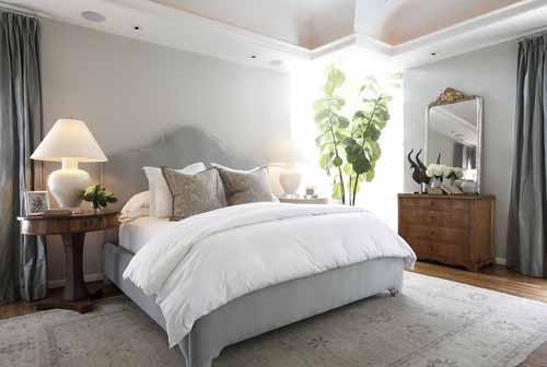 كيفية ترتيب واختيار مكان سرير غرفة النوم