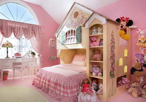 صور - افكار ديكورات غرف نوم بنات بالصور