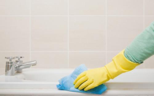 تنظيف الحمام في سبعة خطوات بسيطة
