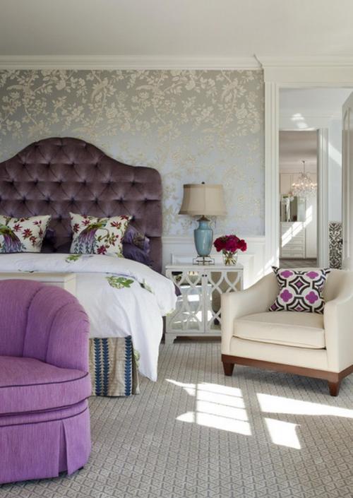 احدث تصميمات ورق جدران غرف النوم   ماجيك بوكس