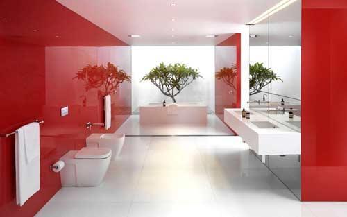 احدث افكار ديكورات حمامات مودرن 2016