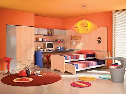 احدث ديكورات غرف نوم اطفال 2016