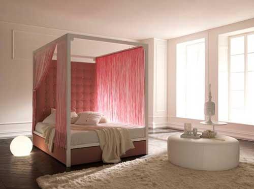 احدث افكار ستائر سرير غرف النوم بالصور ماجيك بوكس