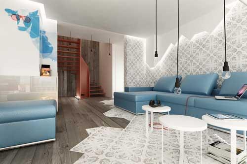 افكار غرف جلوس مودرن بالصور   ماجيك بوكس