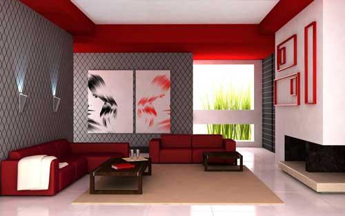 افكار غرف جلوس مودرن بالصور