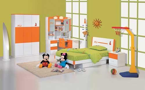 غرف نوم اطفال مودرن بالصور
