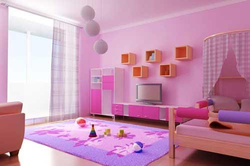 احدث الوان غرف نوم اطفال مودرن بالصور   ماجيك بوكس