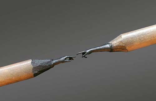 اعمال فنية مذهلة باستخدام قلب القلم الرصاص