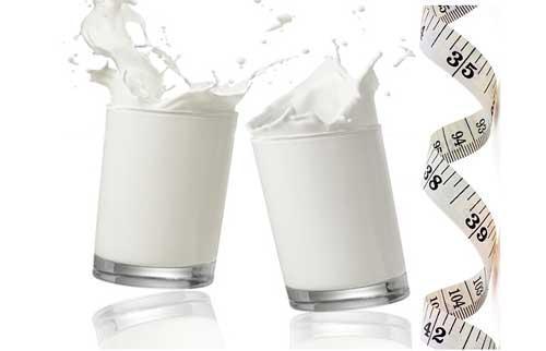 صور - هل شرب اللبن مفيد مع نظام انقاص الوزن ؟