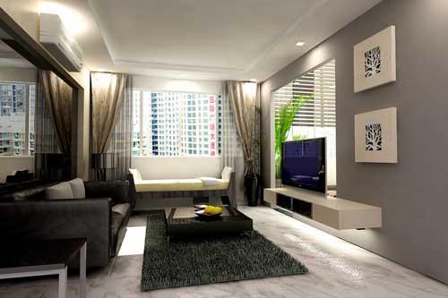 ديكورات غرف جلوس صغيرة افكار مبتكرة لعمل ديكورات غرف جلوس صغيرة