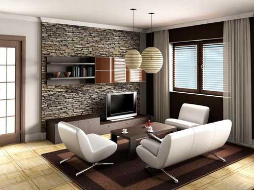 افكار مبتكرة لعمل ديكورات غرف جلوس صغيرة المساحة بالصور