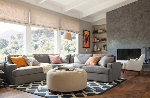 افكار ابداعية لتصاميم غرف معيشة مودرن بالصور
