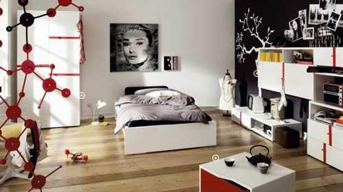 صور - افكار لتصميم غرف نوم بنات فى سن المراهقة
