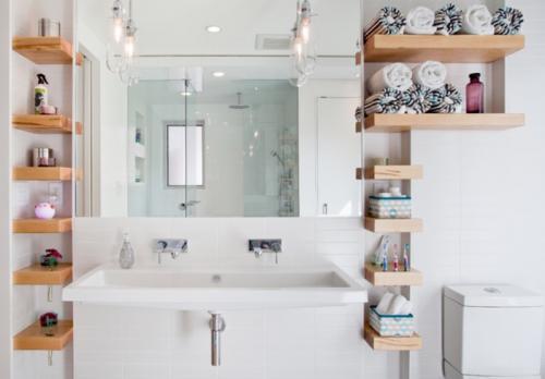 5 Gorgeous Scandinavian Bathroom Ideas: كيفية استغلال المساحة فى حمامات صغيرة