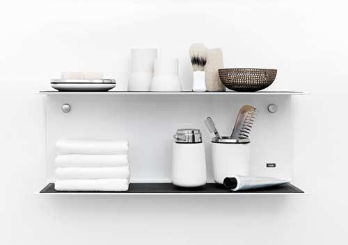 صور - اشكال رفوف لتزيين الحمام بالصور