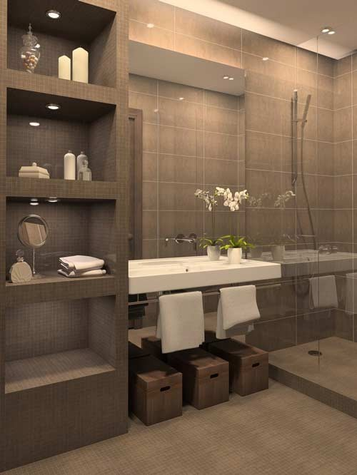 New Narrow Bathrooms Can Be Effective  Architects Corner