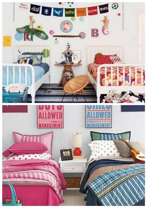 3 افكار تساعدك لتصميم غرف نوم اطفال مشتركة   ماجيك بوكس