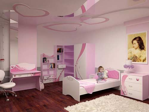 افكار ديكورات جبس غرف نوم اطفال مودرن بالصور   ماجيك بوكس