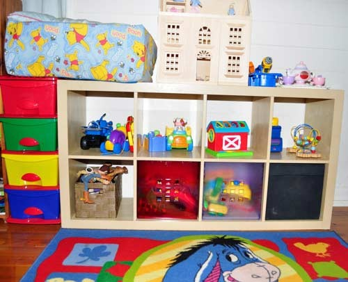 تنظيم غرف الاطفال