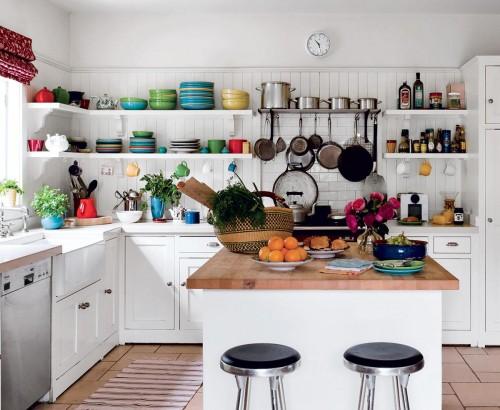 صور - كيف يمكنك ترتيب المطبخ بدون دولاب مطبخ ؟