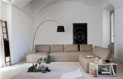 صور - تصميمات ركنة مودرن انيقة لغرفة الجلوس