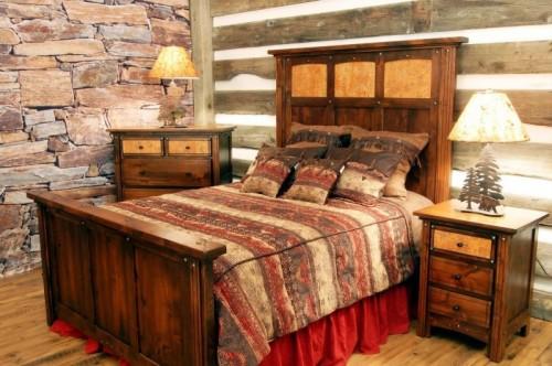 ديكورات غرف نوم ريفية فخمة   ماجيك بوكس